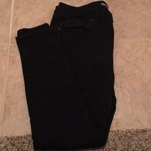 Mossimo Black Mid Rise Skinny Jeans